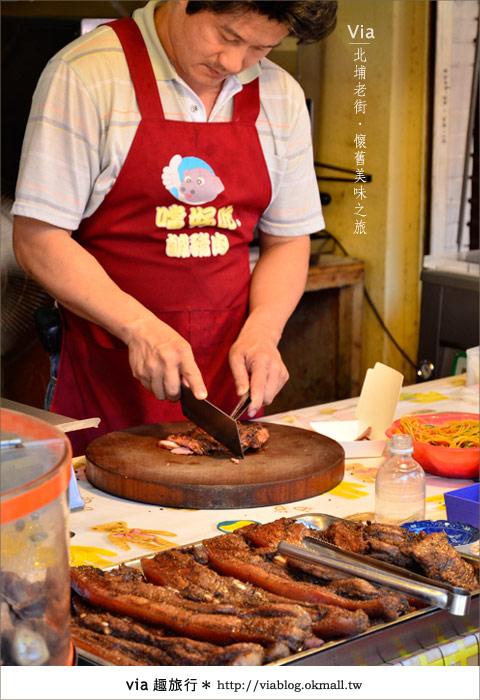 【新竹一日遊】北埔老街~在古廟舊巷內尋找專屬客家的美食9