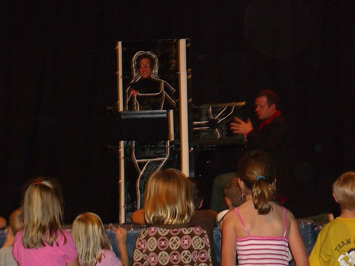 Magician Eddy Ray in Illusion Show 7 by eddyraymagic1