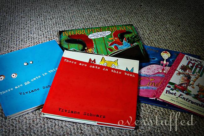 Summer reading for preschool girl going into Kindergarten