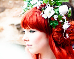 red-haired