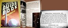 1939 Worlds Fair Guide - Chute Ride (Whiskeygonebad) Tags: coneyisland book amusement ride fair worlds guide chute 1939 trylon perisphere