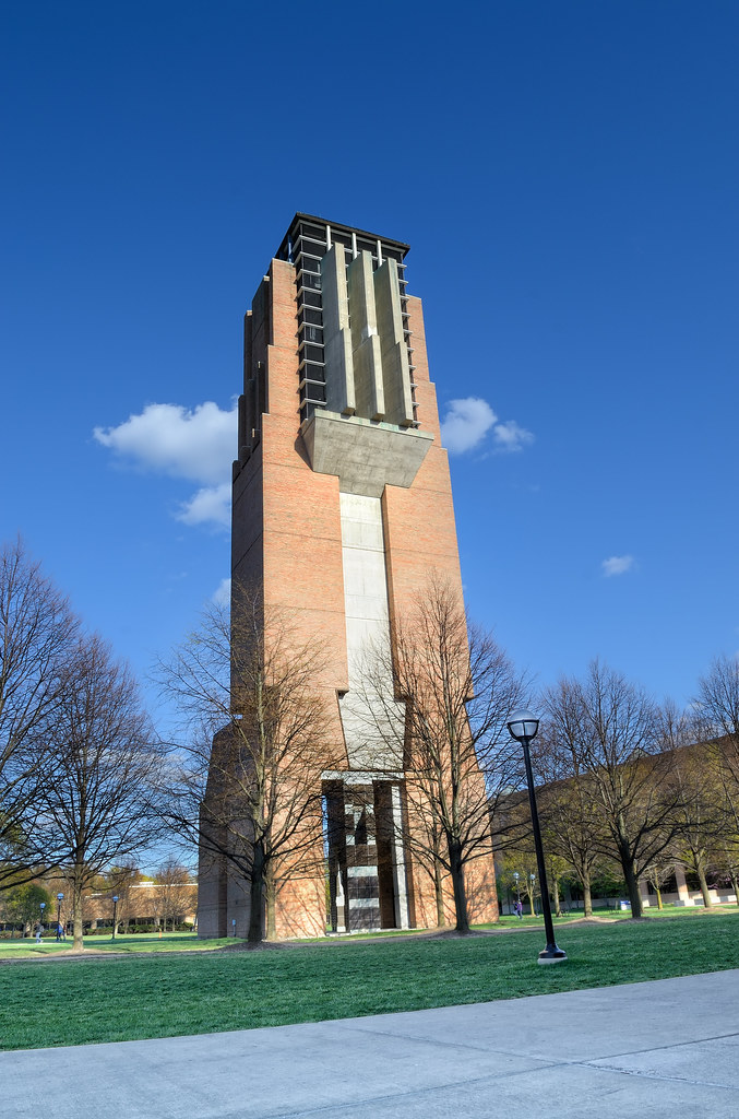 Lurie Bell Tower in early spring