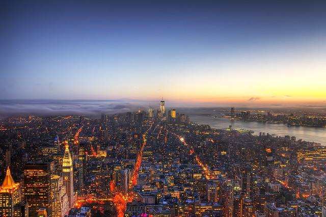 Lower Manhattan from Empire State Building