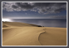 Sand, sea and sky (Marc Briggs) Tags: ocean sea sky sand pacific guadalupedunes dsc02481b2
