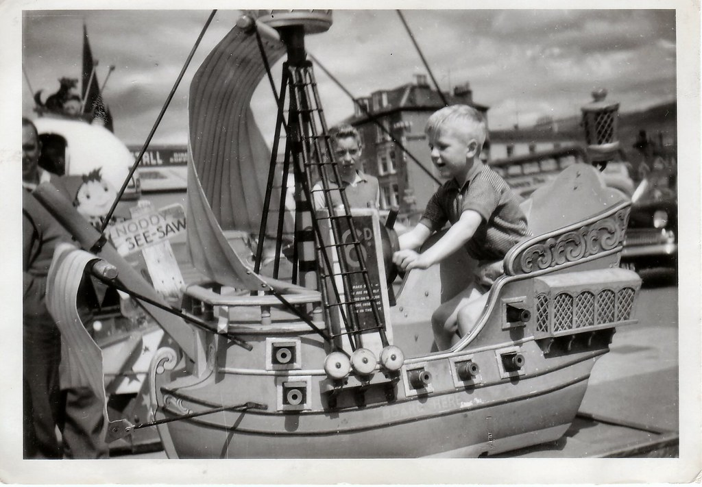 Charles frost at Largs. 1960