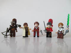 A New Steampunk hope - Star Wars (Hammerstein NWC) Tags: starwars lego steam sabre empire jedi scifi fi minifig rogue custom smuggler bun sci steampunk minifigure mi