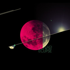 Lunar Eclipse (Bastian Days) Tags: design space magenta minimal lunareclipse