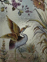 Detail of a Bird and Flowers in a Victorian Stained Glass Window in the Stairwell of Reid's Coffee Palace  Lydiard Street, Ballarat (raaen99) Tags: city flowers blue detail building green bird yellow fauna architecture hotel inn flora purple architecturaldetail 19thcentury decoration victorian skylight australia stainedglass victoria stairwell ceiling artnouveau sparrow victoriana ornate nouveau stainedglasswindow feature ballarat guesthouse goldrush roadhouse nineteenthcentury lightwell 1880s countryvictoria vestibule stylised 1888 belleepoque bellepoque commercialbuilding architecturalfeature coffeepalace victorianstainedglass goldrushera temperancehotel provincialvictoria lydiardstreet rechabites lydiardst independentorderofrechabites reidscoffeepalace hostlery tappingilbertanddennehy tappingilbertdennehy architecturallydesigned reidsguesthouse temperencemovement temperencemovementofaustralia tappinandgilbert tappingilbert