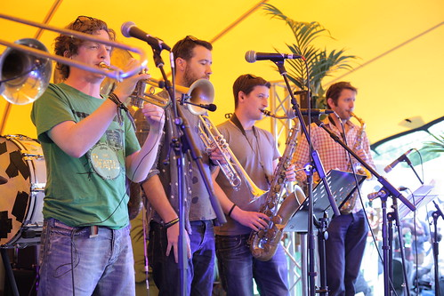 Hackney Colliery Band @ Floripa, Lovebox, 16 June 2012