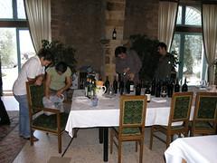 Chef Accursio Craparo from La Gazza Ladra in Modica and his Sommelier Sidekick stopped by COS for a wine tasting with Angela and crew. (DRUified) Tags: usa wine winetasting sicily vino ragusa vittoria sommelier ragusasicily aziendaagricolacos rebeccadruphotography accursiocraparo angelaocchipinti lagazzaladrainmodica