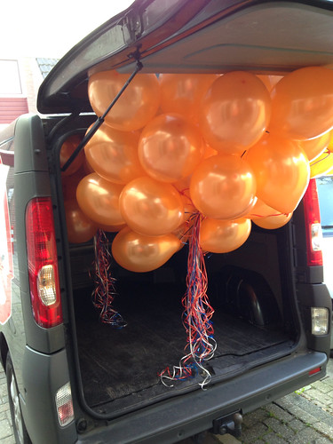 Heliumballonnen Koningsdag