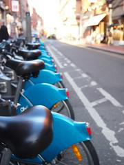 Ecobikes (pink-moon) Tags: city ireland dublin pen olympus dublino irlanda ep3 olympuspenep3