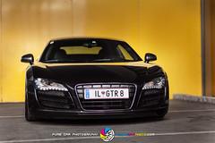 AUDI R8 GTR VCP 003 (VolksCarPhoto.com) Tags: black car low ace wheels audi tuning stance r8 carphotography dreamcar