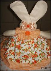 cobre bolo coelha laranja (Eliza de Castro) Tags: cobrebolo decoraçãodecozinha kitdecozinha cobrebolovaquinha cobrebolocoelha