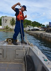 Cutter Sequoia Western, Central Pacific fisheries deployment (Coast Guard News) Tags: 225 d14 palau sequoia underway westernpacific wlb pw