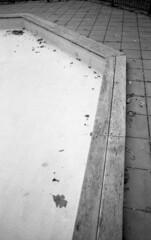 Empty pool (Nils Kristofer Gustafsson) Tags: blackandwhite bnw ishootfilm retro rollei 400s lomo lomography sweden rebro keepfilmalive filmisnotdead filmphotography film rodina adonal