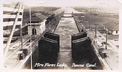 Panama Canal, Miroflores Locks