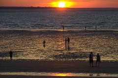 At Sunset (On Explore) (Stonebridge65) Tags: sunset zonsondergang sun beach strand zon mindil mindilbeach darwin australia australië topend northernterritory nikon d5100 tamron