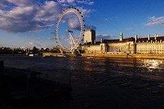 image of the south bank river thames london