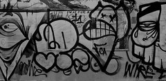 Pinkeyes,Pemex,Toro & Gats (Say Cheese & Die) Tags: logo wire toro ptv throws pemex gats throwies throwie