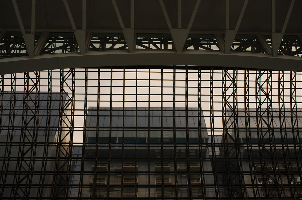 the side roof of Kyoto Station 2