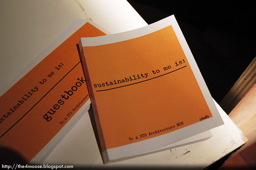 sustainability to me is : Booklet