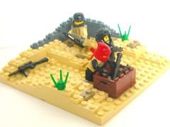Operation Desert Storm (Negative-) Tags: cool gun lego iraq 1999 ama ba piece brickarms