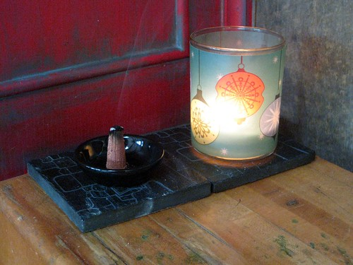 Incense & candle