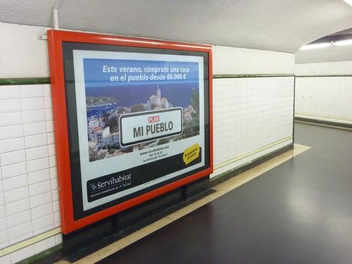 el pueblo del metro