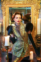 Inspired by Hurrell in colour 1 (LifebyLinda) Tags: woman colour classic glamour femme hollywood brunette fatale 30s 40s hurrell