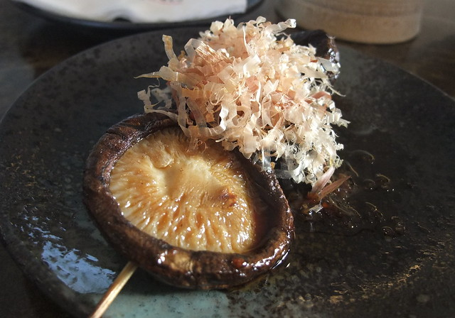 Grilled Shiitake