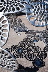 Fragment Shadows (fantommst) Tags: light shadow sculpture katrina waterfront nt au australia darwin center convention northern territory northernterritory fragment tylers flickrchallengewinner trueblueaussieandkiwichallengegroup