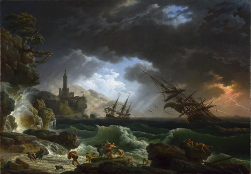 emil nolde stormy sea