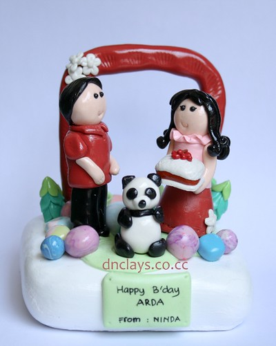 kado clay ulang tahun-panda