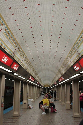 Chicago Subway Station