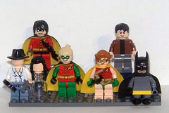 LEGO - MOC - Additional Batman Allies (WIP) (Slayerdread) Tags: robin batman cape imp darkknight batmanbeyond