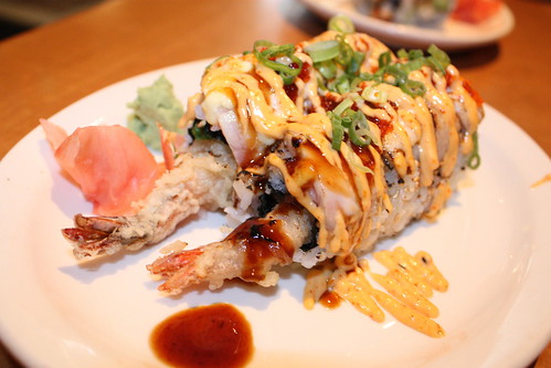 Fire Dragon Roll at Sushi Xtra
