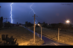 I strike (L e l e) Tags: storm power bolt strike thunderstorm lightning thunder lele temporale tempesta lampo lampi lightnings fulmine fulmini saetta saette the4elements raffaelepreti