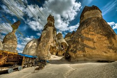 Cappadocia, Turkey (Nejdet Duzen) Tags: trip travel mountain nature turkey view trkiye cappadocia greme da manzara kapadokya rgp turkei seyahat doa colorphotoaward natureselegantshots saariysqualitypictures mygearandme flickrsportal