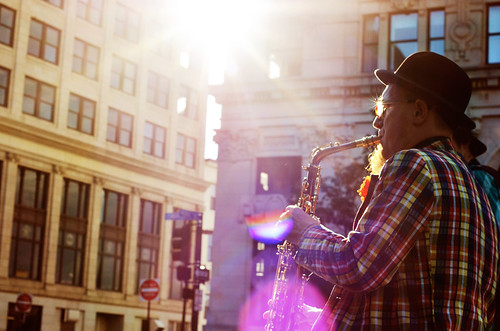 tonight there was sun and sax by kristin~mainemomma