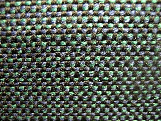BART Seat Fabric Macro