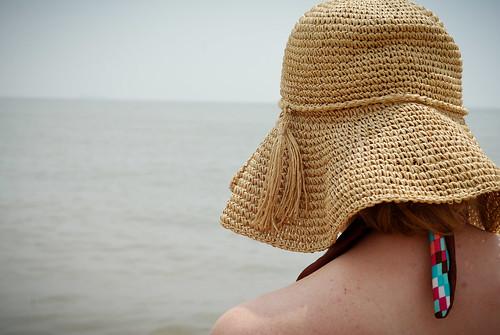 family holiday beach de weekend melissa shore delaware 4thofjuly independenceday rehobothbeach floppyhat