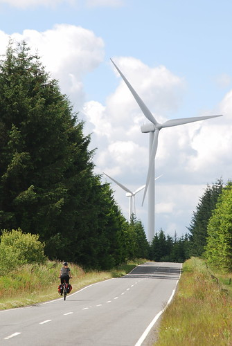 Headed towards Pates Hill wind farm