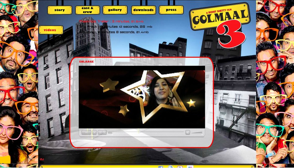 Golmaal 3 movie website - Www.golmaal3thefilm.com