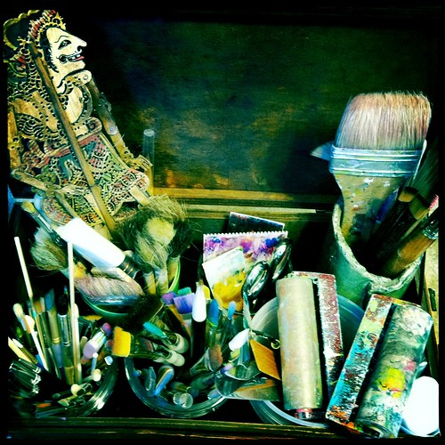some of my painting tools