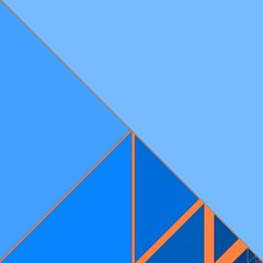 Folding Universe (Absolute Chaos) Tags: blue abstract art lines azul triangle geometry blu fraktal mathematics blau ブルー maths géométrie opticalillusion folding lart fractale biru bleue abstrakt geometria hivemind アート blå limite geometrie 藍色 limitations 分形 dreieck fractalart geometría синий треугольник أزرق математика synvilla geometris selfsimilarity théorieduchaos 수학 teoriadelcaos limitaciones settheory arteabstracto abstrakti arteabstrata chaostheorie flickriver कला مثلث insiemistica नीला fiveprime वर्ग màuxanh geometrinen