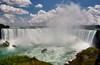 Niagara Falls (Artur Staszewski) Tags: cruise summer sun white ontario canada green fall water clouds canon river boat warm day sunny tourist niagara falls falling foam xs visitors tamron 1224mm foamy attraction visited