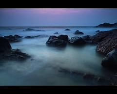 Seascape - Rise of Pink (P_a_r_a_m) Tags: sea india seascape