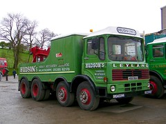 Chunky Mammoth Major. (Renown) Tags: truck rally lorry breakdown recovery trucking towing leyland hudsons wrecker aec kirkbystephen mammothmajor tiltcab ergomatic hsu364 broughtruckstop