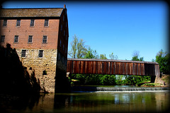 Bollinger Mill (Nux Pix (Beauty in the World Around You)) Tags: mill rural historic missouri coveredbridge watermill flourmill southernmissouri bollinger burfordville ruralmissouri bollingermill capegirardeaucounty